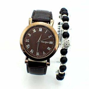 Montre Megic avec un Bracelet livrée en Boite Cadeau