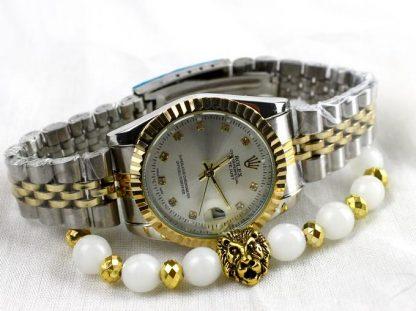 Rolex Date juste avec Bracelet lion