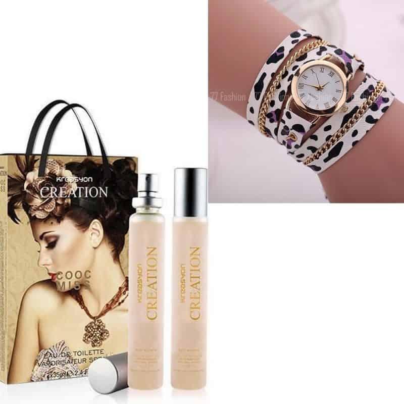 Montre Bracelet + Parfum Importer de turquie