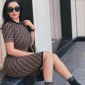 Robe Chic a la Mode Inspiré de Marque Italienne de luxe maroc