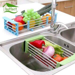 filtre évier pliable pour bac à égouttement vaissele Maroc 1