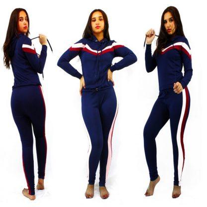 Chic Survêtement Sport Femme - Bleu