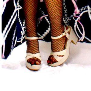 chaussures talon blanc cassé 300x300 - E Achat Maroc   Montres, Parfum, Chaussures, vêtements, maison, beauté ...