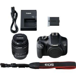 3011c006 eos 4000d black 18 55 iii 07 300x300 - CANON EOS 4000D NOIR  Wifi+ Objectif EF-S 18-55 MM F/3.5-5.6 III Garantie1 an