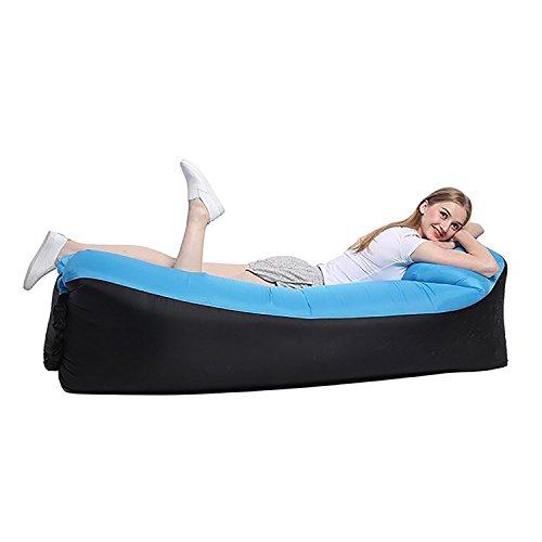 Canapé Relax Gonflable avec Sac de Rangement pour Camping Piscine Plage Jardin maroc