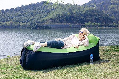 Canapé Relax Gonflable avec Sac de Rangement pour Camping Piscine Plage Jardin maroc plage