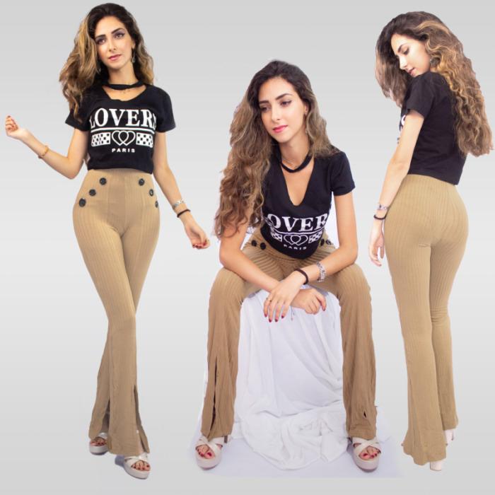 T-shirt Paris Sexy Importé de Turquie  - Noir
