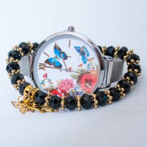 Montre Papillon + Bracelet Khmissa Maroc