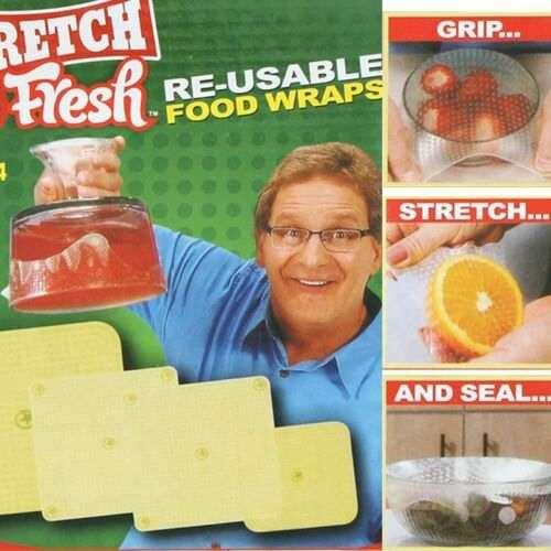تغليف المواد الغذائية التي يعاد استخدامها والقابلة لإعادة