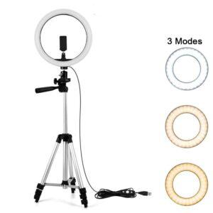 Ring Light maroc Anneau Bague lumineux LED Diametre 33cm+ Trepied 1m05 maroc vente prix solde