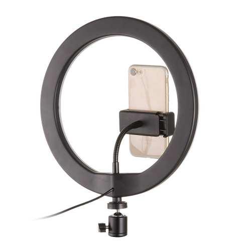 Ring Light Anneau Bague lumineux LED Diametre 33cm+ Trepied 1m05 maroc vente prix solde